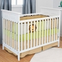 Child Craft Shoal Creek 2 in 1 Traditional Style Convertible Crib in Matte White