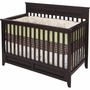 Child Craft Shoal Creek 3 in 1 Lifetime Convertible Crib in Jamocha