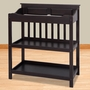 Child Craft Shoal Creek Changing Table in Jamocha