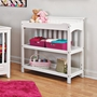 Child Craft Shoal Creek Changing Table in Matte White