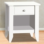 Child Craft Shoal Creek Night Stand in Matte White