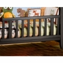 Child Craft Shoal Creek Toddler Guard Rail for Euro Style Crib in Jamocha