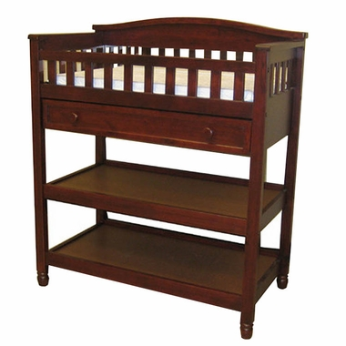 Child Craft Watterson Changing Table In Cherry Pine