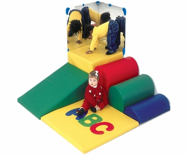 Children's Factory ABC Soft Mini Corner Climber
