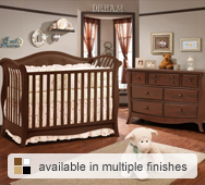 Chloe Convertible Crib Collection by Natart