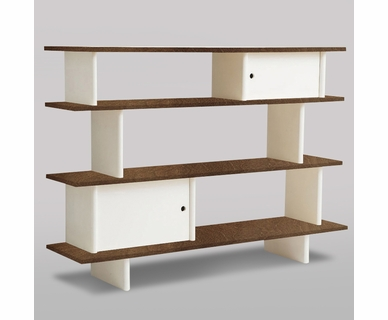 Classic Collection Mini-Library Walnut in Walnut by Oeuf