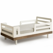 Classic Collection Toddler Bed Walnut by Oeuf