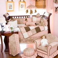 CoCo Crib Bedding Collection by Glenna Jean