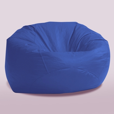 comfort research 4 ft large fuf chair in blue sky suede