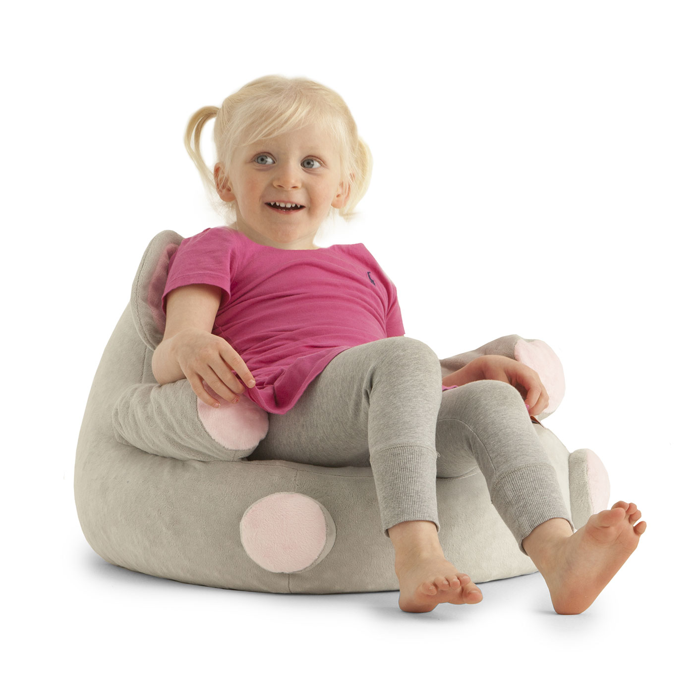 Comfort Research Big Joe Bagimals Emerson The Elephant Bean Bag Armchair In FREE SHIPPING