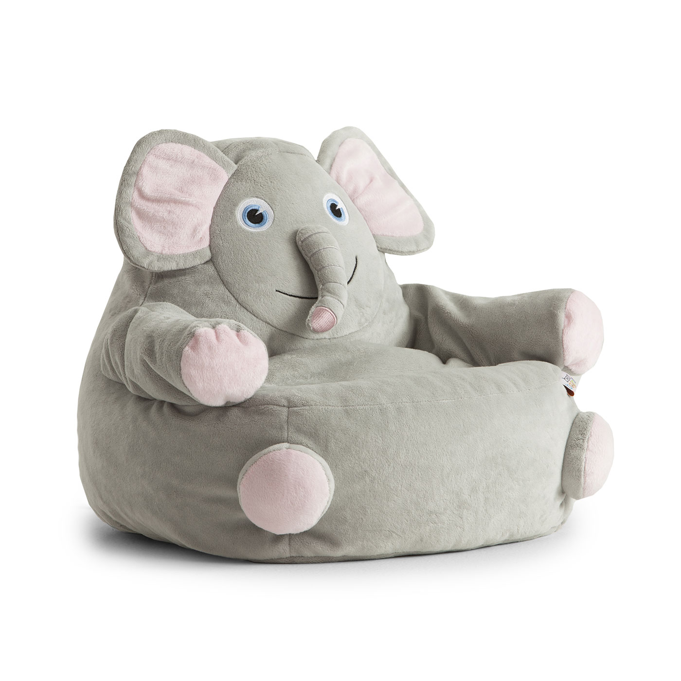 Beau Comfort Research Big Joe Bagimals Emerson The Elephant Bean Bag Armchair In  FREE SHIPPING