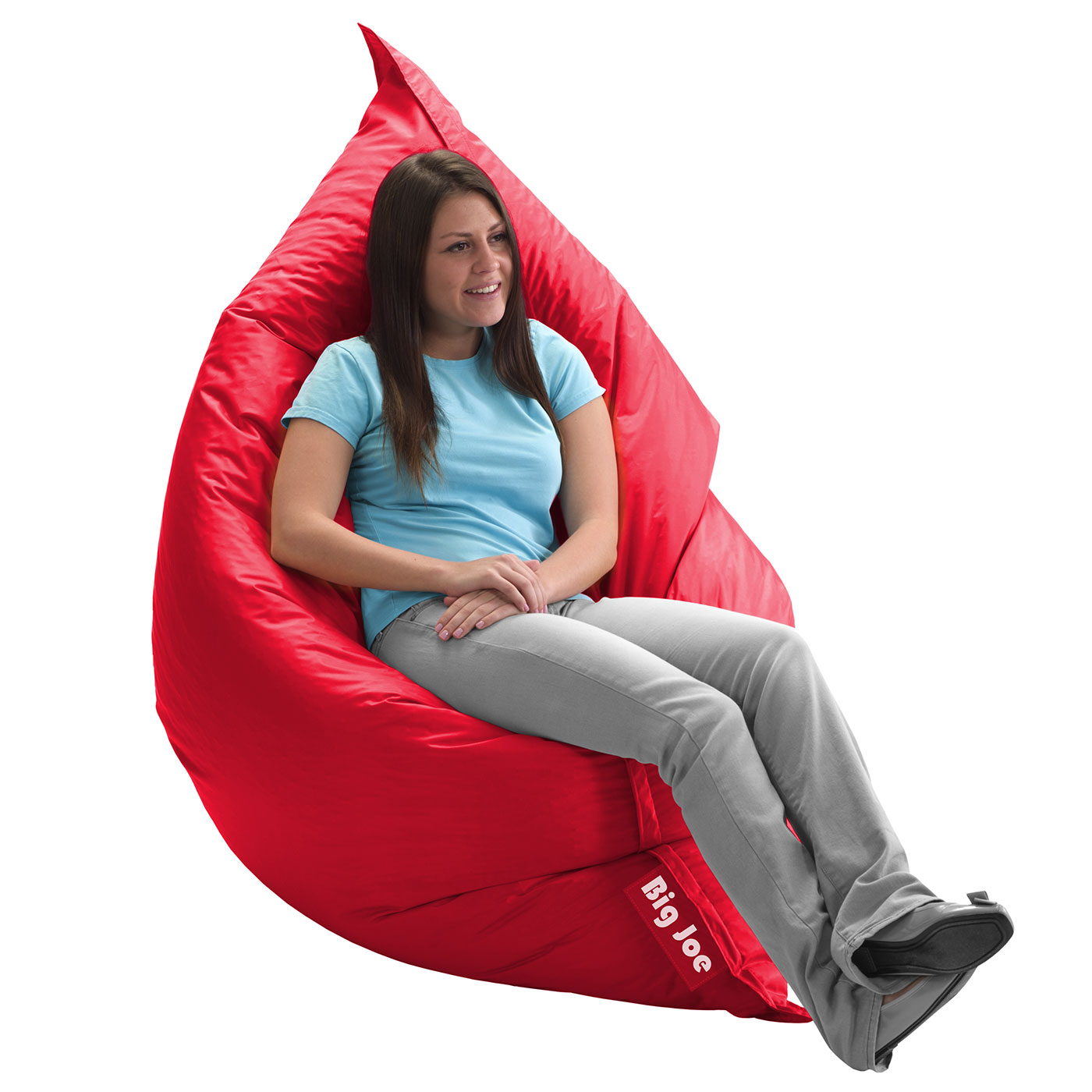 Comfort Research Big Joe Original SmartMax Bean Bag Chair in Flaming Red FREE SHIPPING  sc 1 st  Simply Baby Furniture : big joe bean bag chair pink - Cheerinfomania.Com