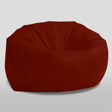 Comfort Research The Classic Ultimax Bean Bag In Sierra Red Suede   Click  To Enlarge