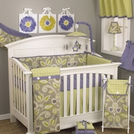 Periwinkle Crib Bedding Collection by Cottontale Designs