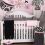 Cottontale Designs Girly 7 Piece Crib Bedding Set