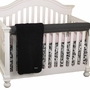 Cottontale Designs Girly Front Crib Rail Cover Up Set