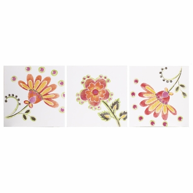Cottontale Designs Gypsy 3 Piece Wall Art Set