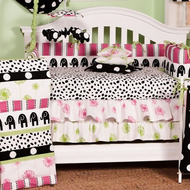 Cottontale Designs Hottsie Dottsie 3 Piece Crib Bedding Set