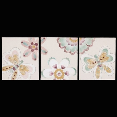 Cottontale Designs Penny Lane 3 Piece Wall Art
