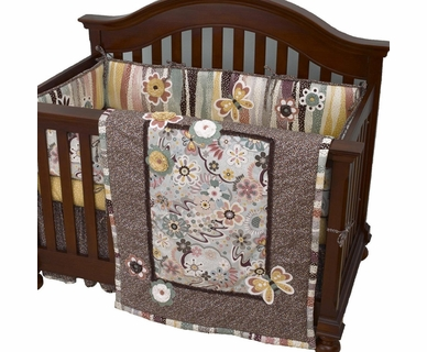 Cottontale Designs Penny Lane 8 Piece Crib Bedding Set