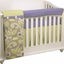 Cottontale Designs Periwinkle Front Crib Rail Cover Up Set