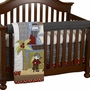 Cottontale Designs Pirates Cove Front Crib Rail Cover Up Set