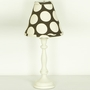 Cottontale Designs Raspberry Dot Lamp and Shade