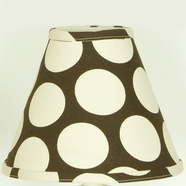 Cottontale Designs Raspberry Dot Lampshade