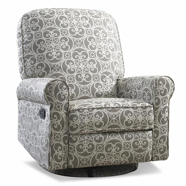 Creations Baby Ashewick Swivel Glider Recliner in Doodles Ash  sc 1 st  Simply Baby Furniture & Creations Baby Ashewick Swivel Glider Recliner in Doodles Ash FREE ... islam-shia.org