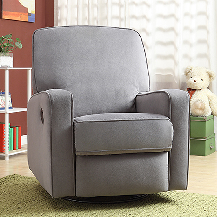 creations baby birch hill swivel glider recliner in doecoffee free shipping
