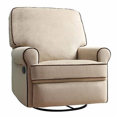 creations baby birch hill swivel glider recliner in doecoffee click to enlarge