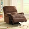 Creations Baby Easton Rocker Recliner in Chocolate