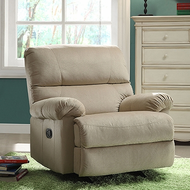 Creations Baby Easton Rocker Recliner in Doe - Click to enlarge
