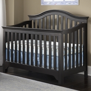 Creations Baby Mesa Convertible Crib in Black