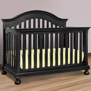 Creations Baby Summer's Evening Convertible Crib Antique Black