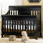 Creations Baby Summer's Evening Sleigh Crib Antique Black