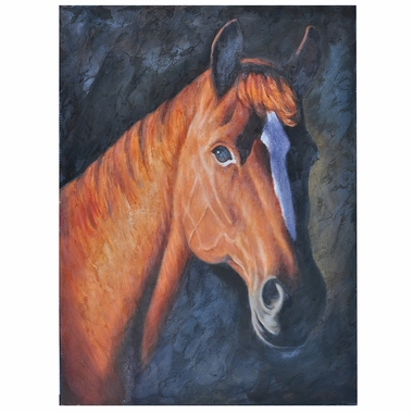 Crestview Collection Lady Wild Horse Wall Art