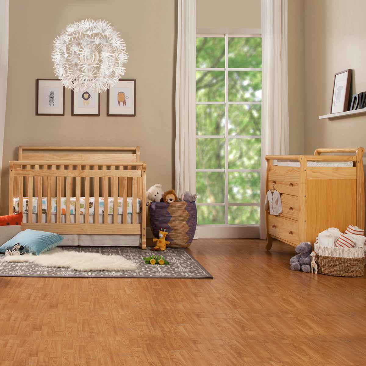 Da Vinci 2 Piece Nursery Set In Natural