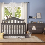 davinci 2 piece nursery set jayden 4 in 1 convertible crib and 6 drawer double