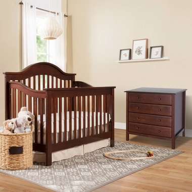 davinci jayden 2 piece nursery set 4 in 1 convertible crib and 4