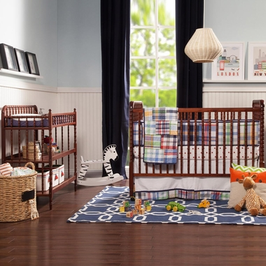Davinci 2 Piece Nursery Set Jenny Lind 3 In 1 Convertible Crib And Changing Table