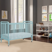 DaVinci 2 Piece Nursery Set - Jenny Lind 3 in 1 Convertible Crib and Changing Table in Lagoon