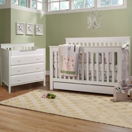 davinci 2 piece nursery set piedmont 4 in 1 convertible crib and jayden combo dresser