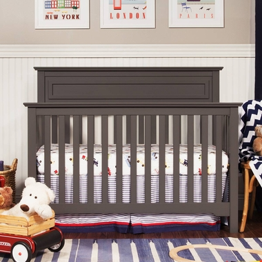 DaVinci Autumn 4-in-1 Convertible Crib in Slate - Click to enlarge