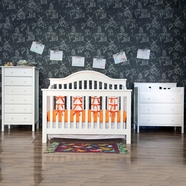 DaVinci 3 Piece Nursery Set - Jayden 4 in 1 Convertible Crib, Changer and 6 Drawer Dresser in White