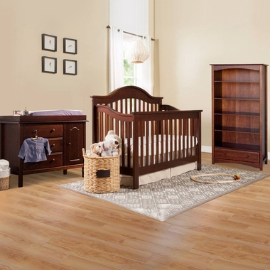 davinci jayden 3 piece nursery set 4 in 1 convertible crib piedmont