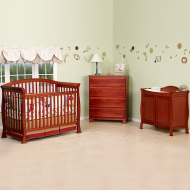Cherry Parker 4 In 1 Convertible Crib By Davinci Click To