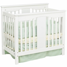 DaVinci Annabelle 2 in 1 Mini Convertible Crib in White