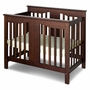 DaVinci Annabelle Mini 2 in 1 Convertible Crib in Espresso