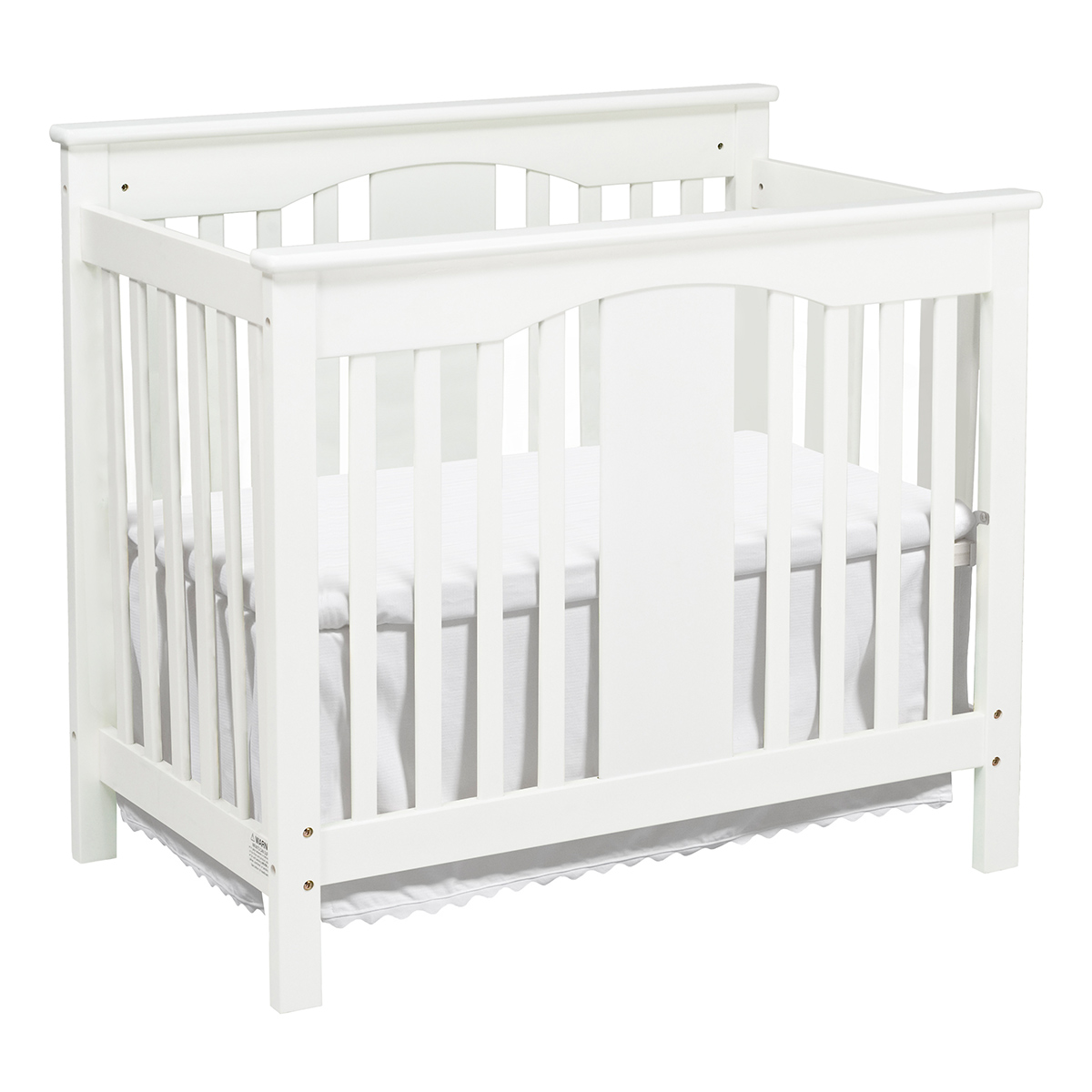 toddler ebay natural mini itm nursery bed day convertible side in fixed cribs crib baby